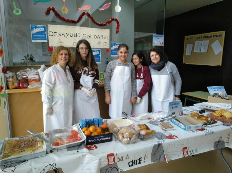 Actividades comunitarias con espíritu solidario